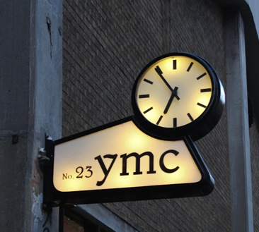 boutique mode londres ymc