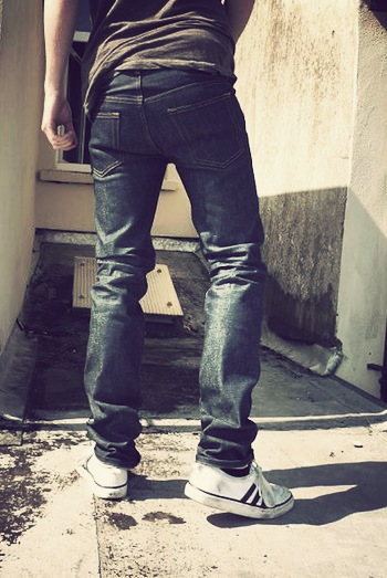 Jean raw homme