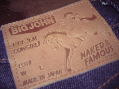 jeans naked and famous big john