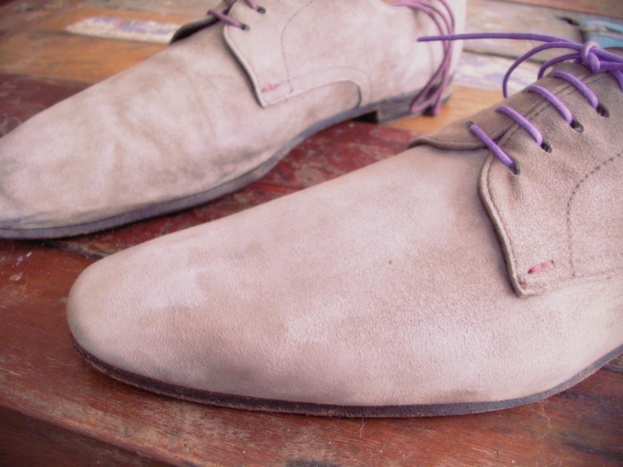 entretien chaussures daim