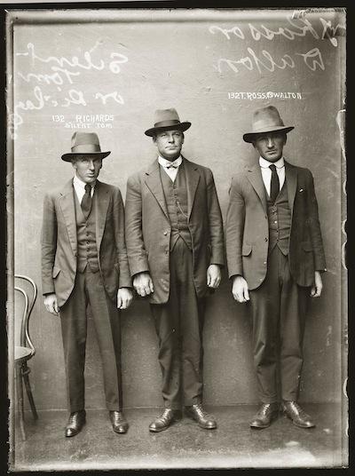 mode masculine 1920